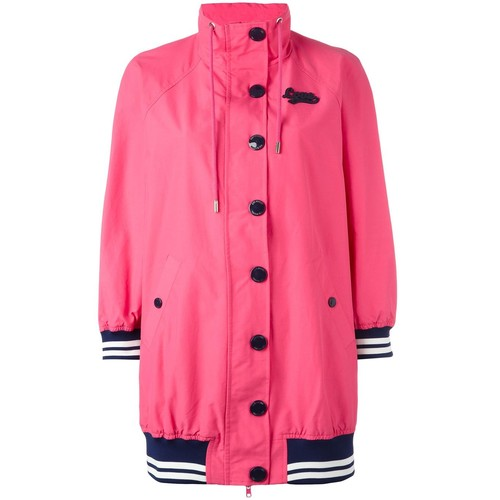LOVE MOSCHINO Striped Detail Coat
