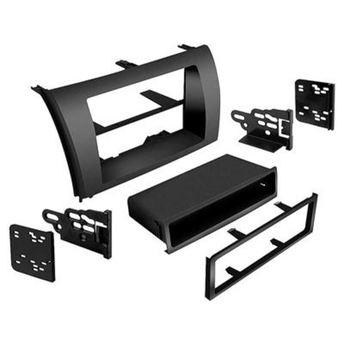 Metra 99-8220 Dash Kit (Matte Black) Fits select 2007-up Toyota Tundra/Sequoia models  single- and double-DIN radios