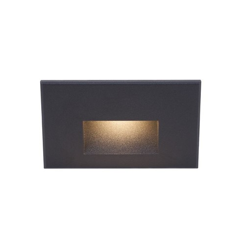 Line Voltage 100 RGB Horizontal Step and Wall Light [RGB color : Blue; Finish : Black]