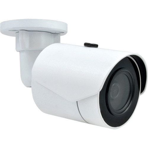 E38 2MP Outdoor Vandal-Proof PoE IR Network Mini-Bullet Camera with 3.1mm Fixed Lens