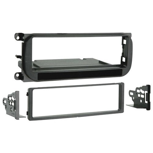 Metra - Installation Kit for Select Chrysler, Dodge, Plymouth and Jeep Vehicles - Black