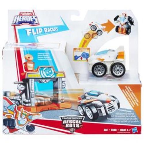 Hasbro Playskool Heroes Transformers Rescue Bots Flip Racers Airport Blastoff Blades