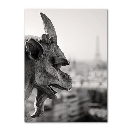 Trademark Fine Art 'Gargoyle Paris' 16
