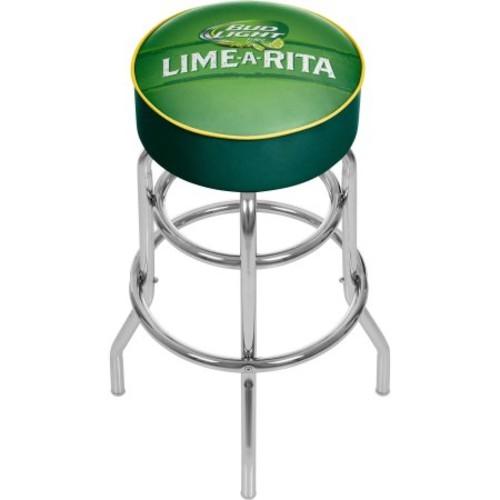 Bud Light Lime-A-Rita Padded Swivel Bar Stool