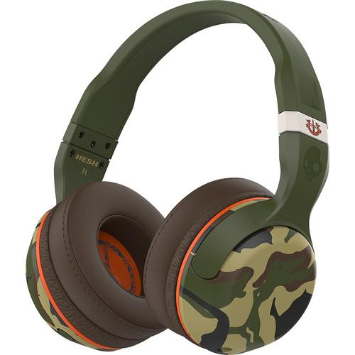 Skullcandy - Hesh 2 Wireless Over-the-Ear Headphones - Camo