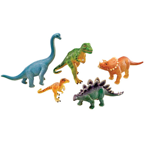Learning Resources Jumbo Dinosaurs Set Of 5