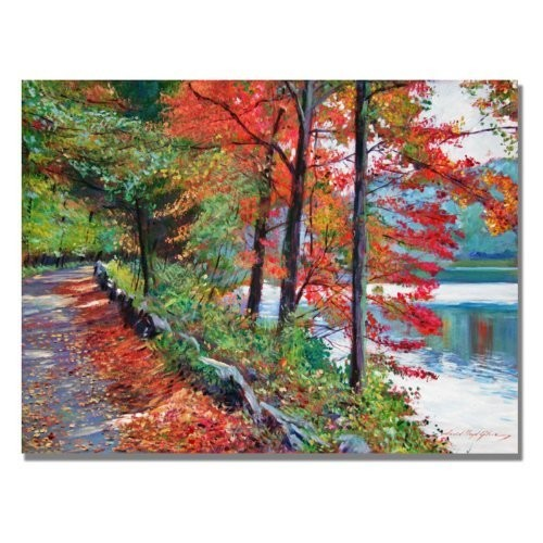 Rockefeller Park by David Lloyd Glover, 18x24-Inch Canvas Wall Art [18 by 24-Inch]