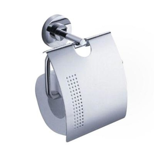 Fresca Alzato Single Post Toilet Paper Holder in Chrome