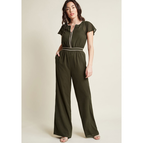 Intrigue Mastery Wide-Leg Jumpsuit