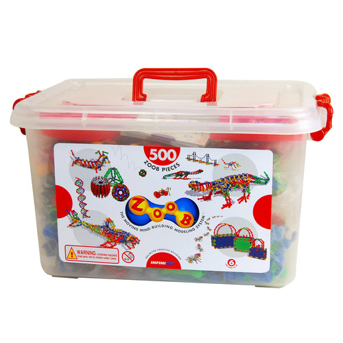Infinitoy ZOOB Building Set - 500 Pcs