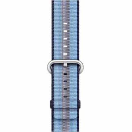 Apple Woven Nylon for 42mm Watch - Midnight Blue Stripe