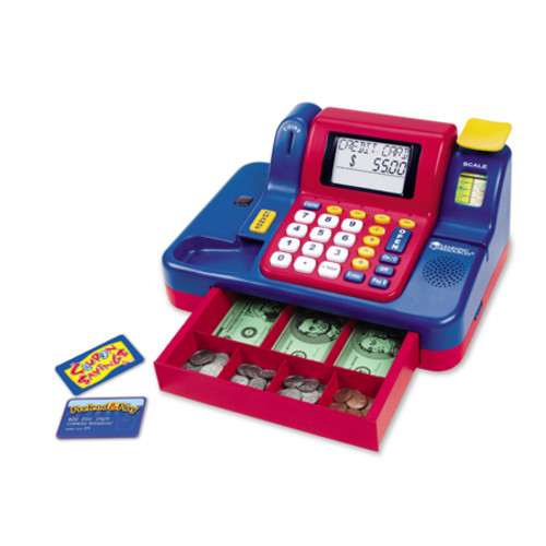 Learning Resources Pretend & Playu0026#174; Teaching Cash Register