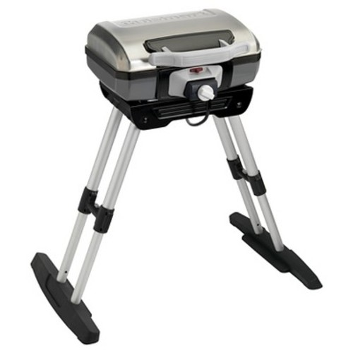 Cuisinart Outdoor Versastand Portable Electric Grill - Silver