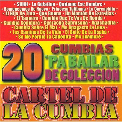 20 Cumbias Pa' Baila [CD]