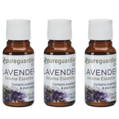 PureGuardian 3-Pack 1 oz. Lavender Aroma Essence Oil