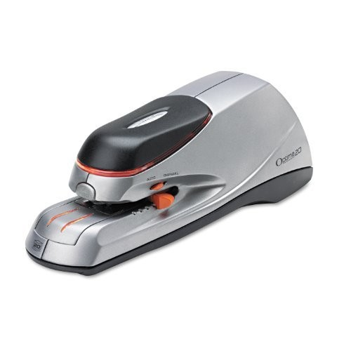 Swingline Electric Stapler, 20 Sheet Capacity, Optima 20, Silver (48208)