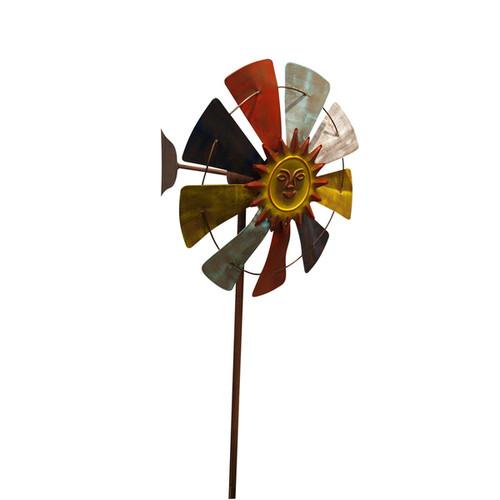 Wind Mill Garden Stake