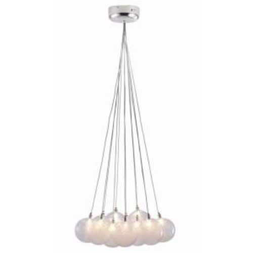 ZUO Cosmos 12-Light Clear Ceiling Pendant
