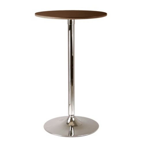 Kallie Pub Table Metal/Cappuccino - Winsome