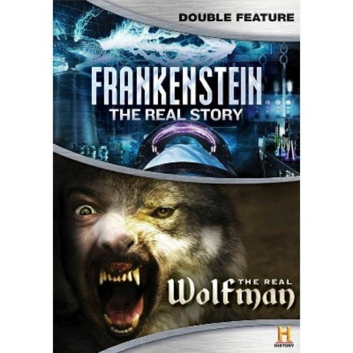 Frankenstein:Real Story/Real Wolfman (DVD)