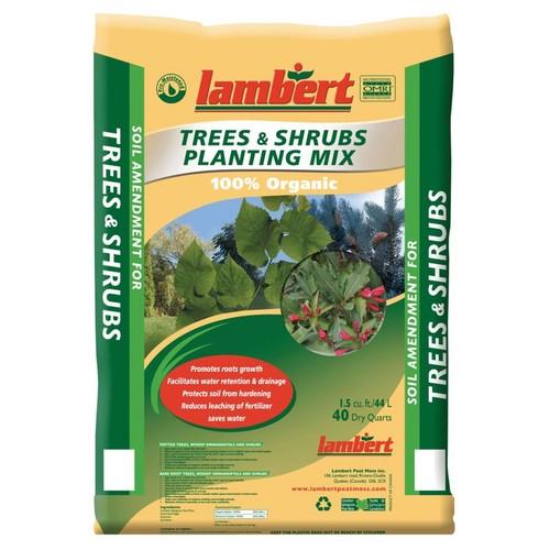 Lambert LP56445 Organic Tree & Shrubs Planting Mix - 40 quart