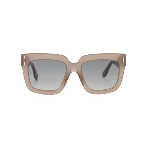 GIVENCHY Beige Oversized Square Sunglasses