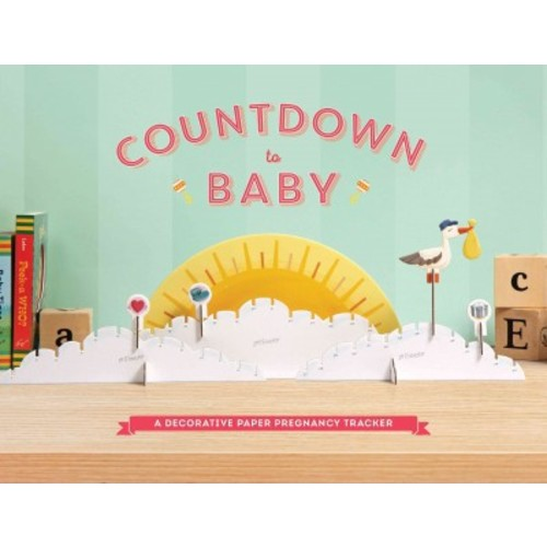 Countdown to Baby : A Decorative Paper Pregnancy Tracker (Accessory)