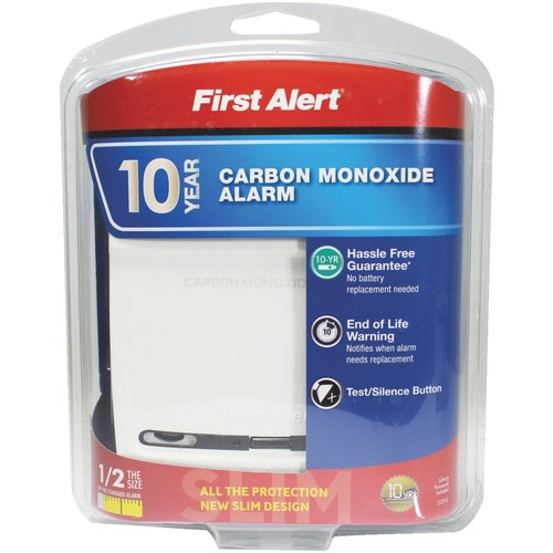 First Alert 10-Year Battery Carbon Monoxide Alarm - CO910
