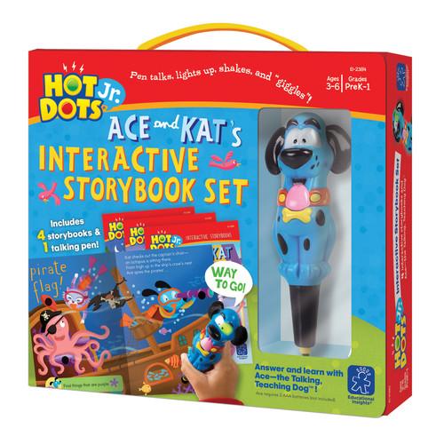 Educational Insights Hot Dots Jr 4 Book & Pen Set