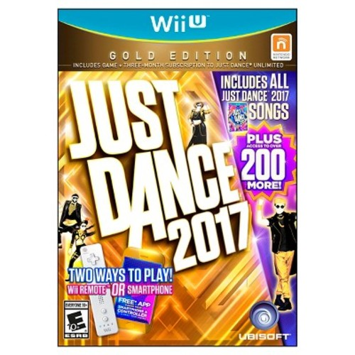 Just Dance 2017 GOLD Edition (Nintendo Wii U)