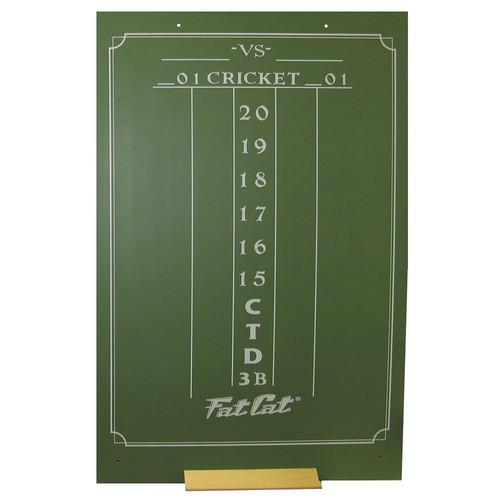 Viper Chalk Scoreboard: Cricket and 01 Dart Games, Green [Large (23.5