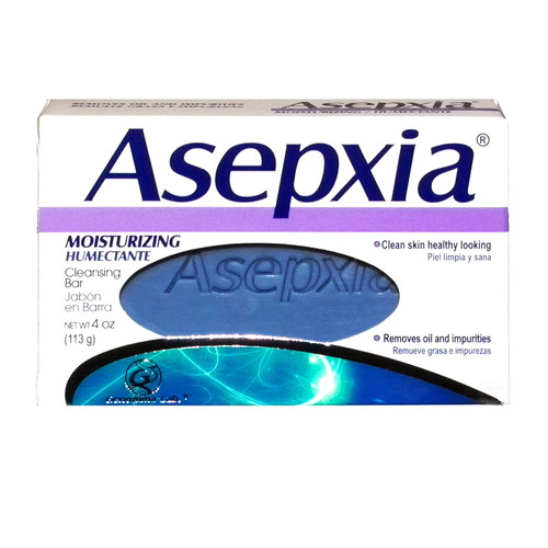 Genomma Lab. Asepxia Moisturizing Cleansing Bar, 4 oz