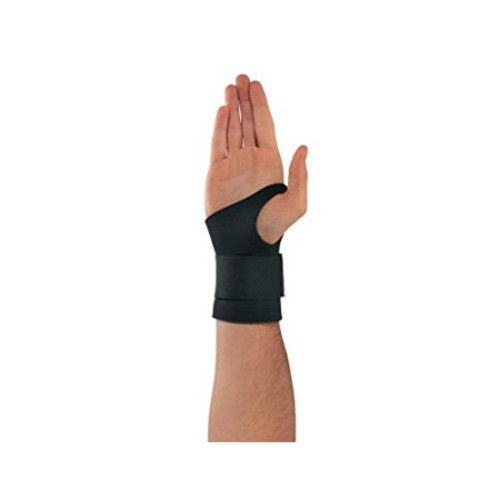 Ergodyne ProFlex 670 Ambidextrous Single-Strap Wrist Support, Small