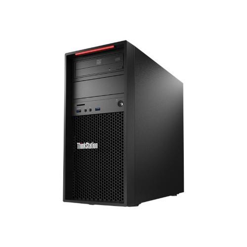 Lenovo ThinkStation P410 30B3 Tower Intel Xeon E5-1650V4 6-core 3.6GHz Desktop PC - 16GB DDR4 SDRAM, 1TB SATA SSD, NVIDIA Quadro M4000, Gigabit Ethernet, DVD-Writer, Microsoft Windows 10 Pro 64-bit (30B3001YUS)