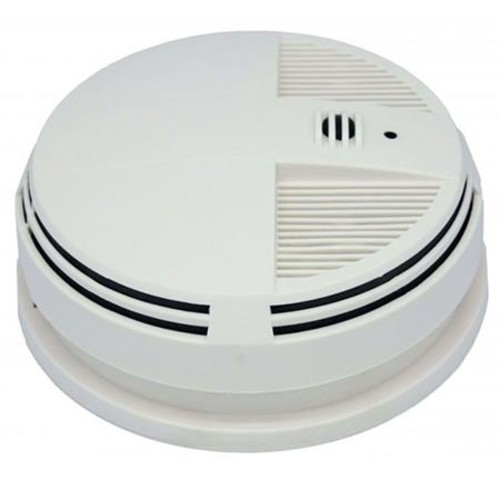 KJB Security Products C1547 Add-on Side View Smoke Detector Covert Camera, Audio C1547A