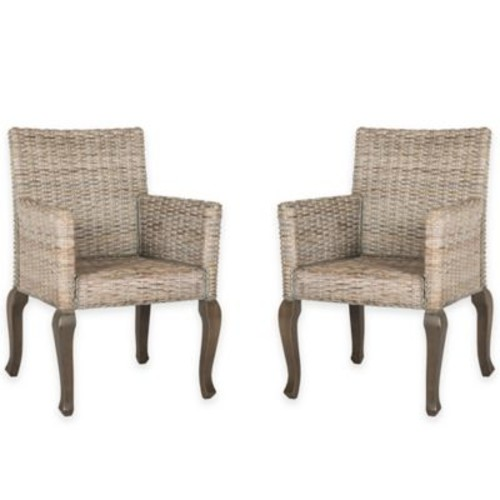Safavieh Armando Wicker Dining Chair