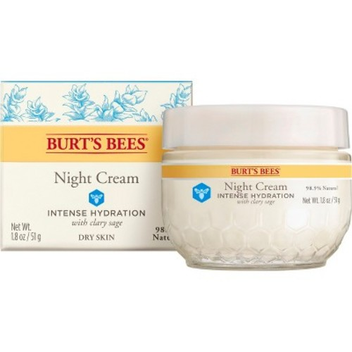 Burt's Bees Intense Hydration Night Cream, 1.8 Ounces [Pack of 1]