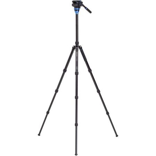 Benro Aero 7 Travel Video Tripod, Aluminum