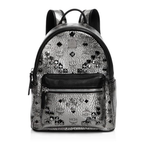 MCM Stark Small Stud Backpack