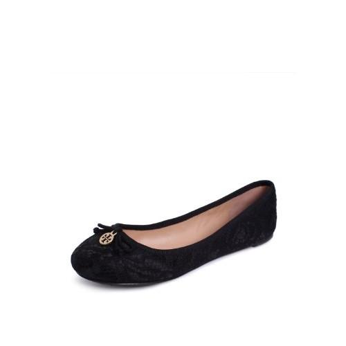 T Burch Chelsea Ballet Flat Black 8