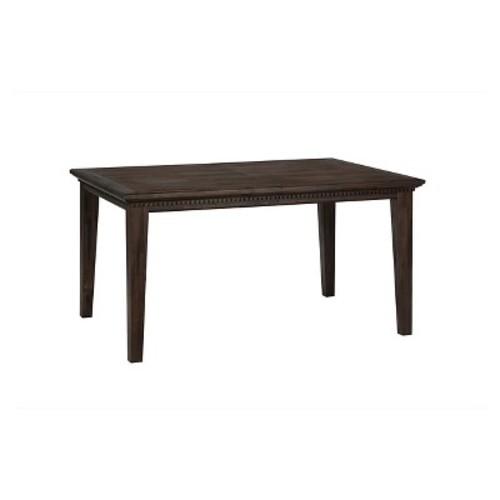 Geneva Hills Rectangle Dining Table Wood/Rustic Brown - Jofran Inc.