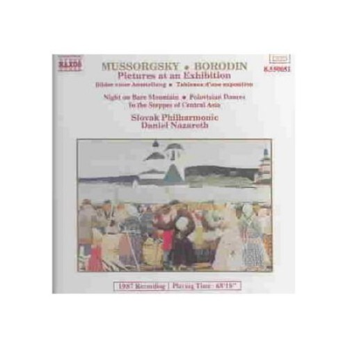 Mussorgsky: Pictures at an Exhibition; Night on Bare Mountain / Borodin: In the Steppes of Central Asia; Polovtsian Dances