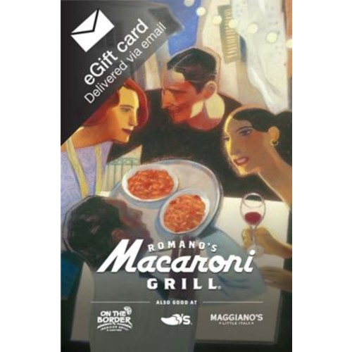 Macaroni Grill Gift Card $50 (Email Delivery)