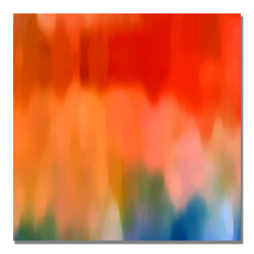 Trademark Global Amy Vangsgard 'Abstract Watercolor' Canvas Art [Overall Dimensions : 18x18]