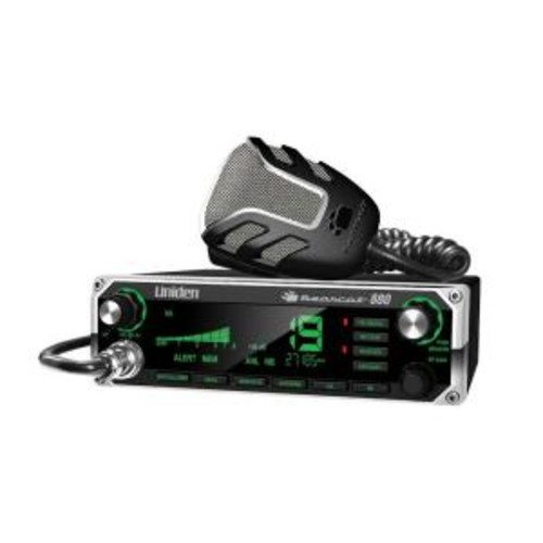 Uniden CB Radio with Multi-color LCD