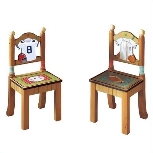 Fantasy Fields Lil' Sports Fan Set of 2 Chairs