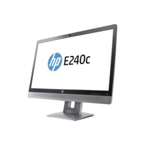 HP EliteDisplay E240c Video Conferencing Monitor - LED monitor - 23.8