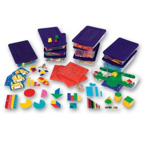 Learning Resources Manipulative Kit For Hands-On Standards Handbook, Grades 3rd - 4th