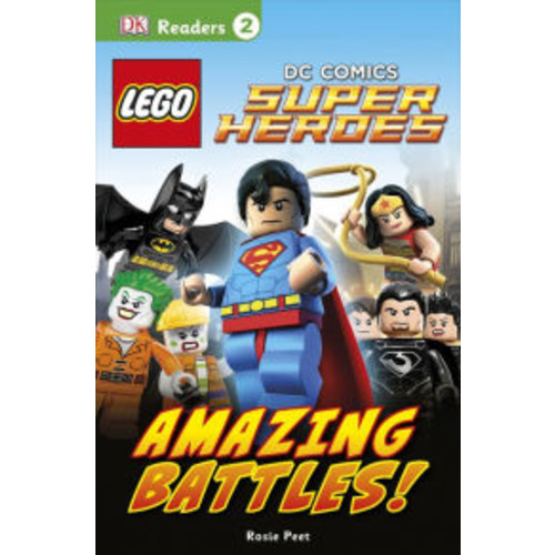 LEGO DC Comics Super Heroes: Amazing Battles! (DK Readers Level 2 Series)