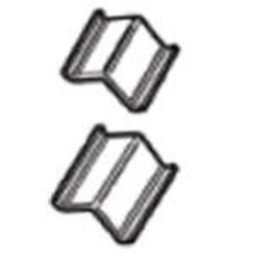 Logan Graphics Framing Hardware Frame Joiner V-Nails 3/8 Inch For Hardwood, Package of 200 for Framing, Joining Wood Corners or Stretcher Bars